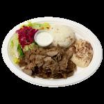 lamb & beef gyro